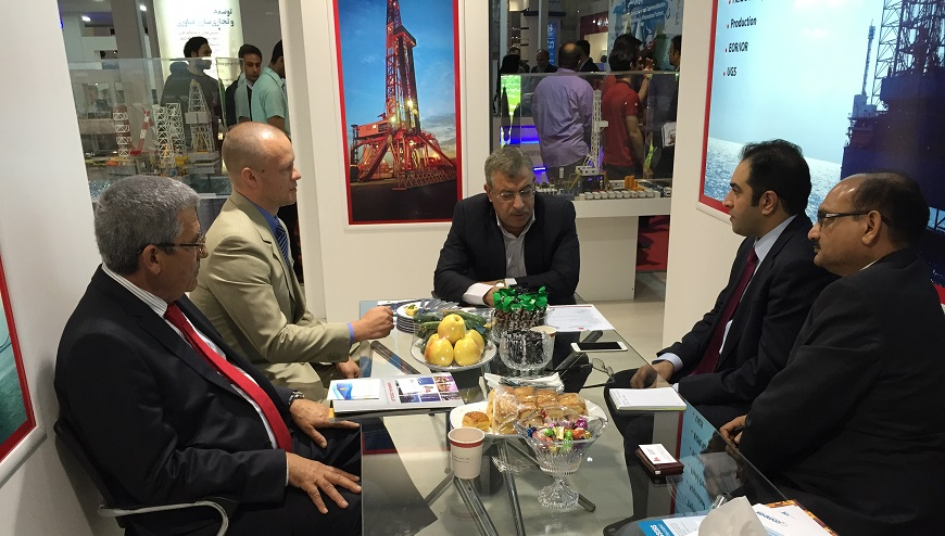 UES team visits Iran Oil and Gas Show in Tehran
