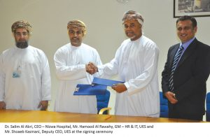 UES pledges aid to Nizwa Hospital