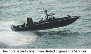 UES awarded contract for in-shore security boats by Ministry of Defence