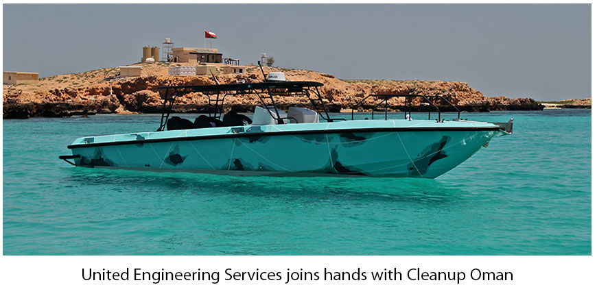 UES joins hands with Cleanup Oman
