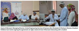 UES Corporate Social Responsibility in Oman