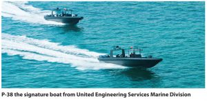 UES Marine Awarded 2 Orders for their P-38 Fast Interceptor Boats